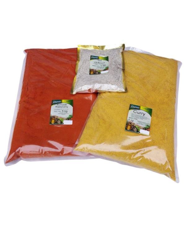 Przyprawa pomidor z czosnkiem i bazylią - włoska /4kg/